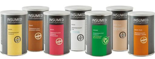 INSUMED termékek - Trinkmahlzeit