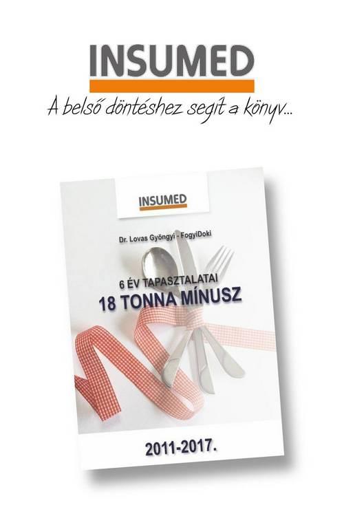 Dr. Lovas Gyöngyi FogyiDoki INSUMED könyv